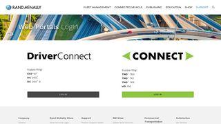 Driverconnect Web Portal