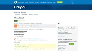 Drupal Portal Sites