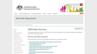 Dss Online Portal