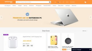 Dubai Online Shopping Portal