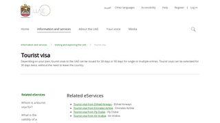 Dubai Online Visa Portal