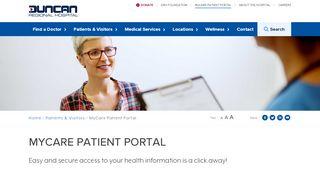 Duncan Medical Associates Patient Portal