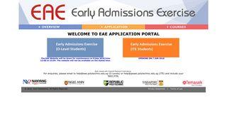 Eae Online Portal