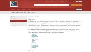 Ecu Staff Portal