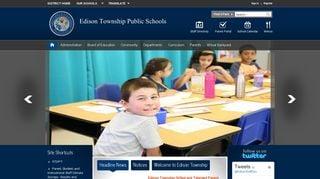 Edison Township Parent Portal