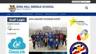 Edna Hill Middle School Parent Portal