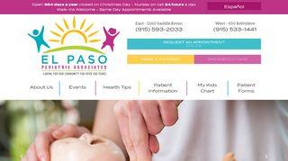 El Paso Pediatrics Patient Portal