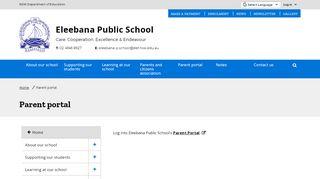 Eleebana Public School Parent Portal