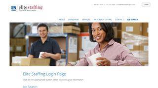 Elite Staffing Employee Portal