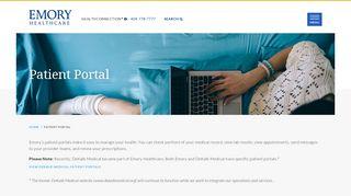 Emory Portal Login