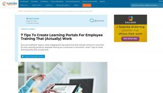 Employee Online Training Portals