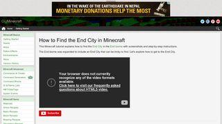 End City Portal