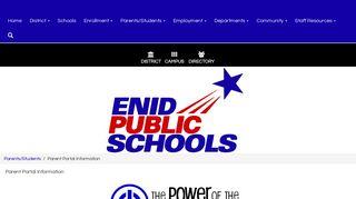 Enid Public Schools Parent Portal