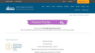 Erie Sd Parent Portal