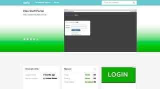 Etax Staff Portal