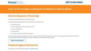 Everest University Portal