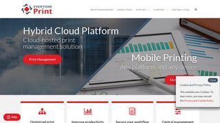 Everyoneprint Web Portal