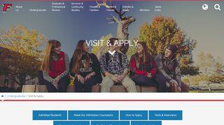 Fairfield University Admissions Portal