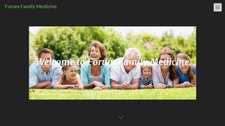 Family Forum Medicine