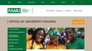 Famu Housing Portal