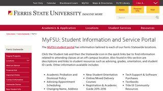 Ferris State Portal