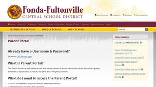 Ffcsd Parent Portal