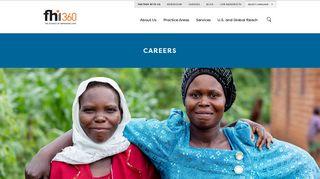 Fhi 360's Career Portal