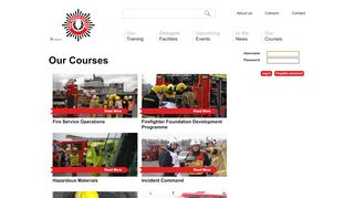 Fire Service College Learning Portal