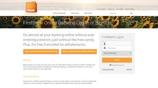 First Bank Portal