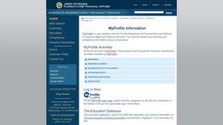Florida Insurance Agent Portal