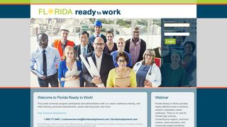 Florida Ready To Work Portal