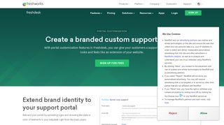 Freshdesk Portal Customization