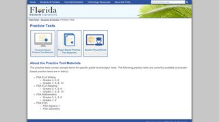 Fsa Portal Practice Test