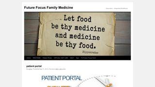 Future Focus Portal