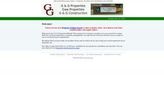 G And G Properties Tenant Portal