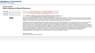 Gdit Teamworks Portal Login