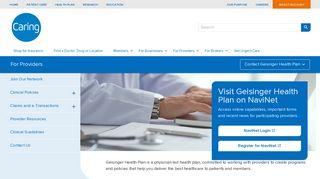 Geisinger Provider Portal