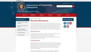 Georgia Reentry Web Portal