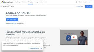 Google App Engine Portal