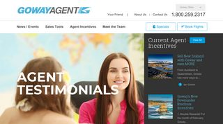 Goway Travel Agent Portal