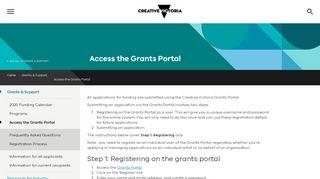 Grants Portal