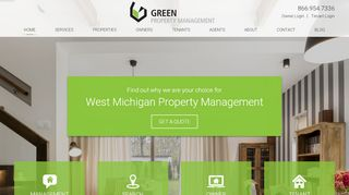 Green Property Management Portal