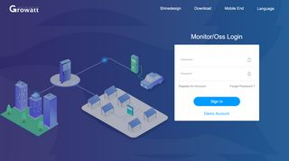 Growatt Monitoring Portal