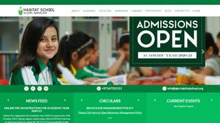 Habitat School Portal