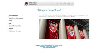 Harvard Travel Portal