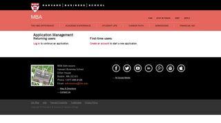 Hbs Application Portal