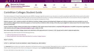 Heald College Modesto Student Portal