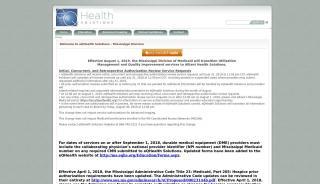Healthsystems Of Mississippi Web Portal