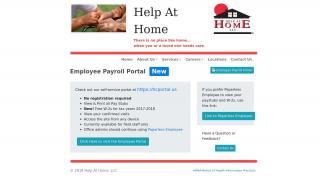 Help At Home Employee Portal