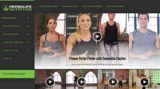 Herbalife Fitness Portal